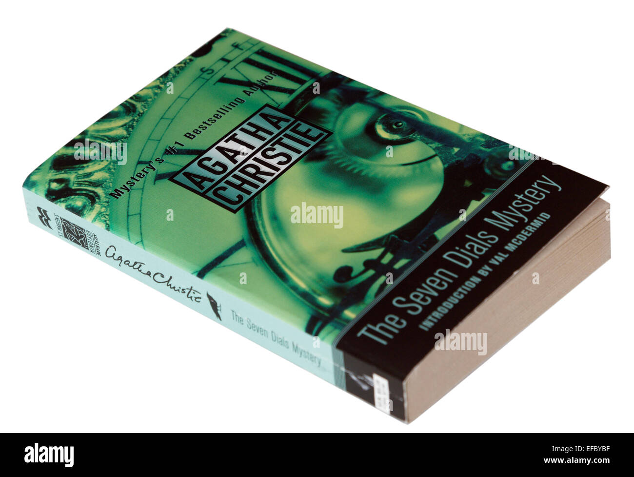 The Seven Dials Mystery by Agatha Christie - Stock Image