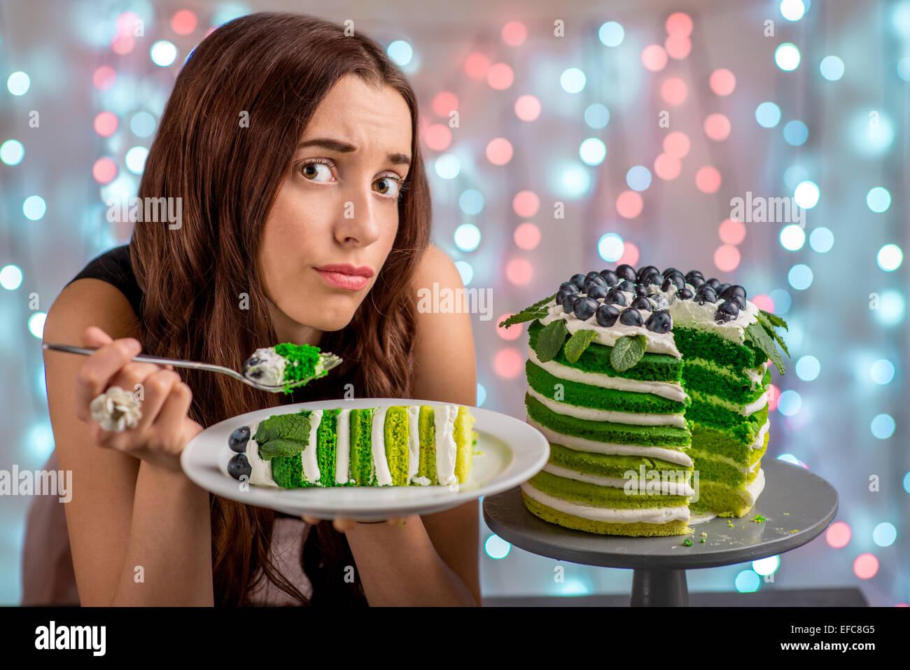 Woman Fat Sad Stock Photos Woman Fat Sad Stock Images Alamy