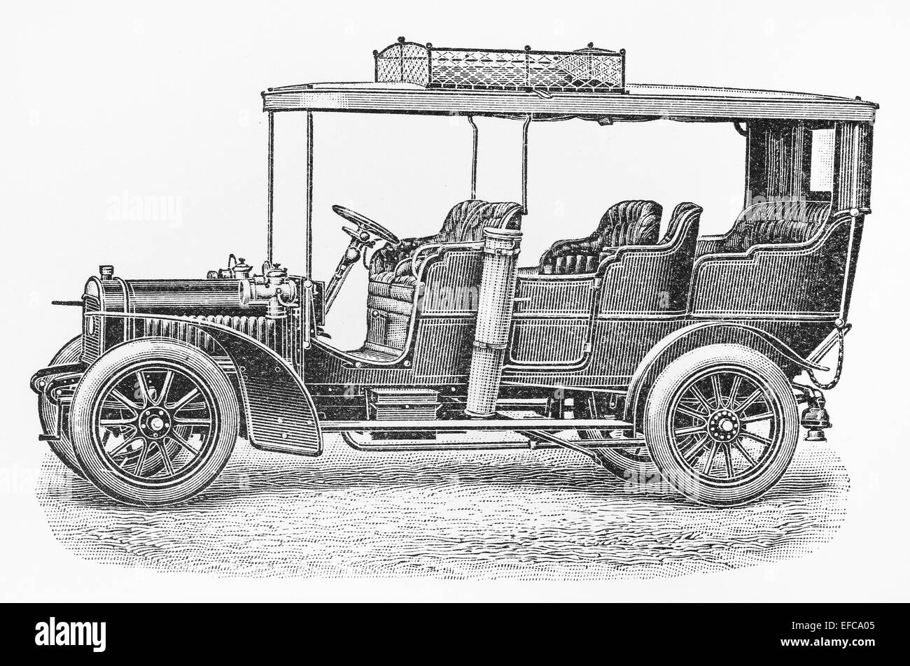 Old Car Drawing Stock Photos & Old Car Drawing Stock Images - Alamy