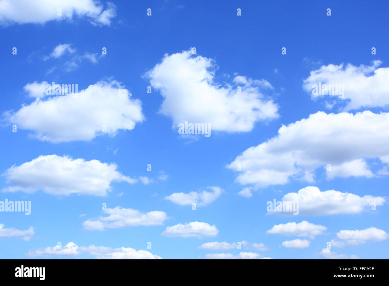 Clouds, may be used as background - Stock Image