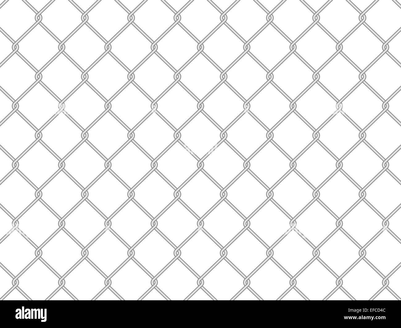 wire fence on a white background. Vector illustration Stock Photo ...