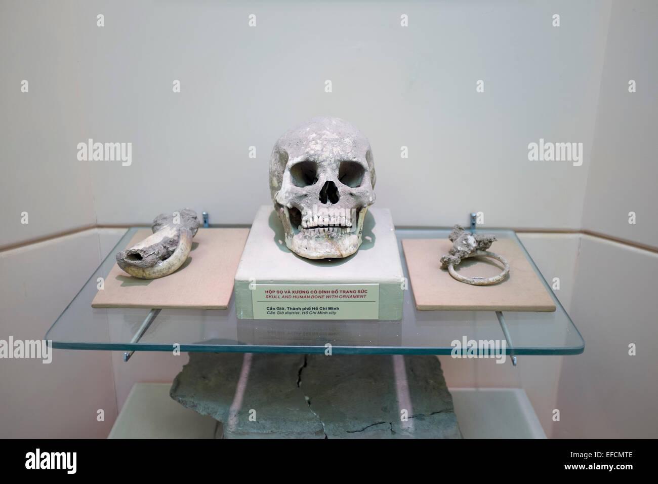 Museum of National History Hanoi - Stock Image