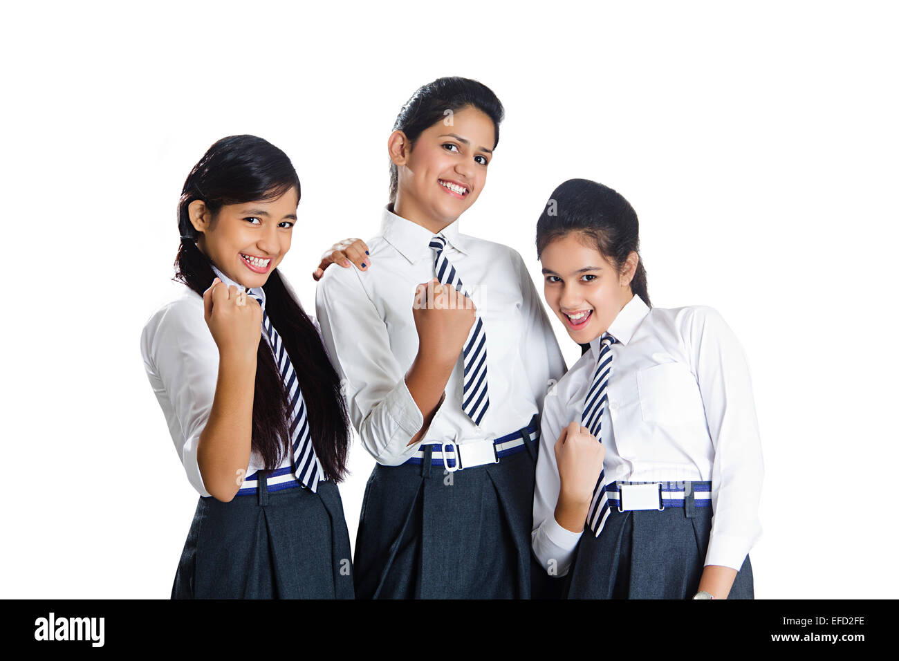 Remarkable, rather Indian school girl fun