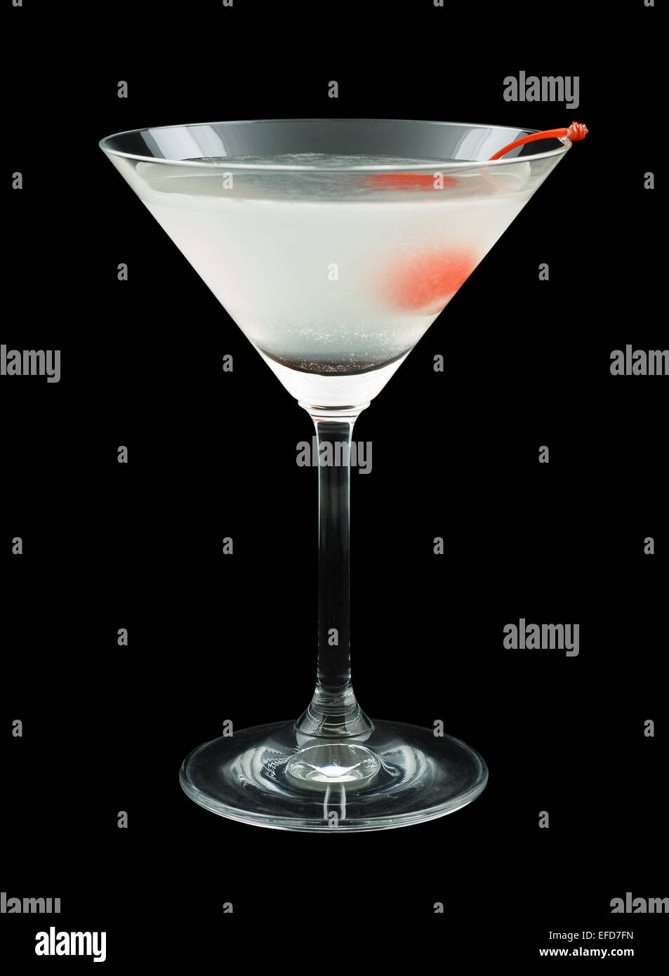 Aviation Cocktail - Stock Image