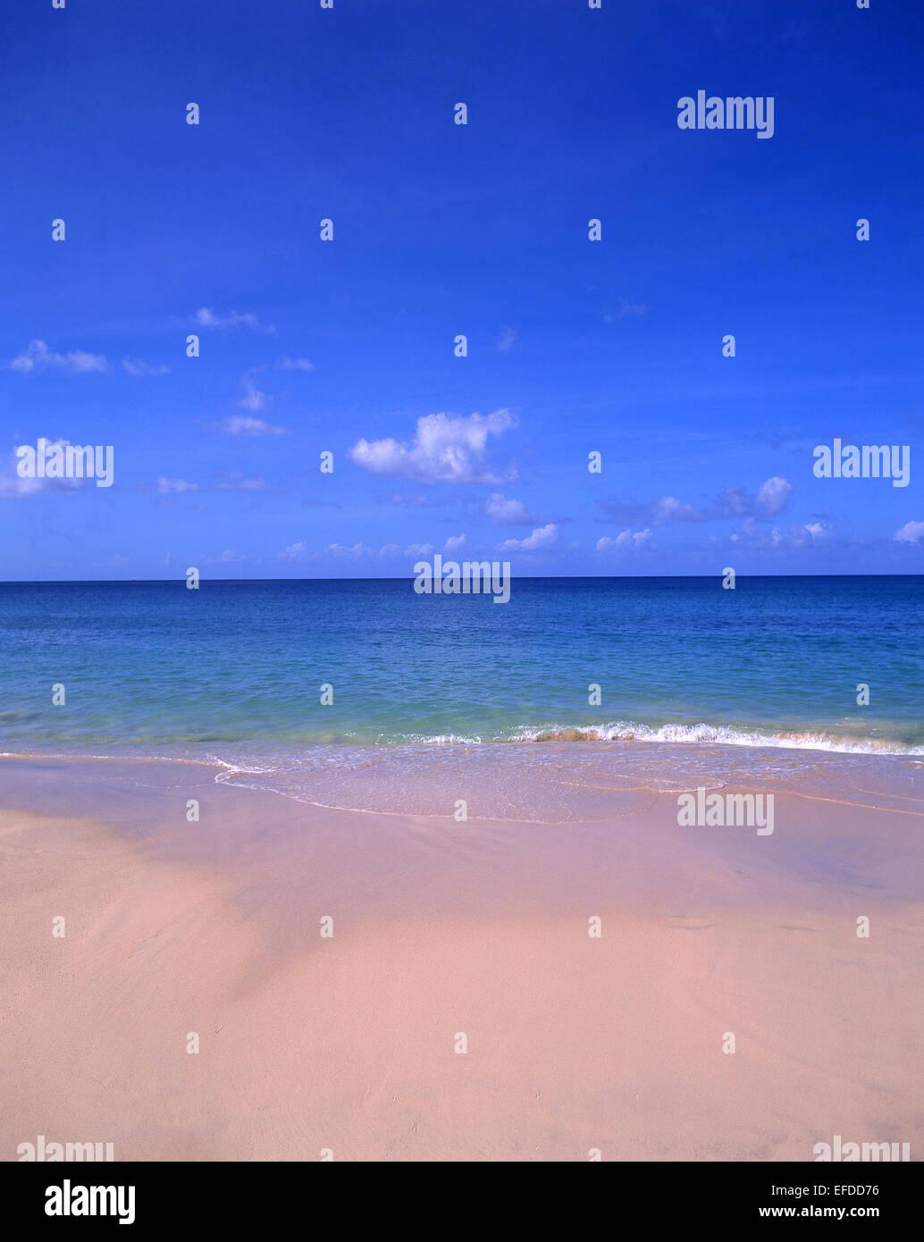 Darkwood Beach, Saint Mary's Parish, Antigua, Antigua and Barbuda, Lesser Antilles, Caribbean Stock Photo