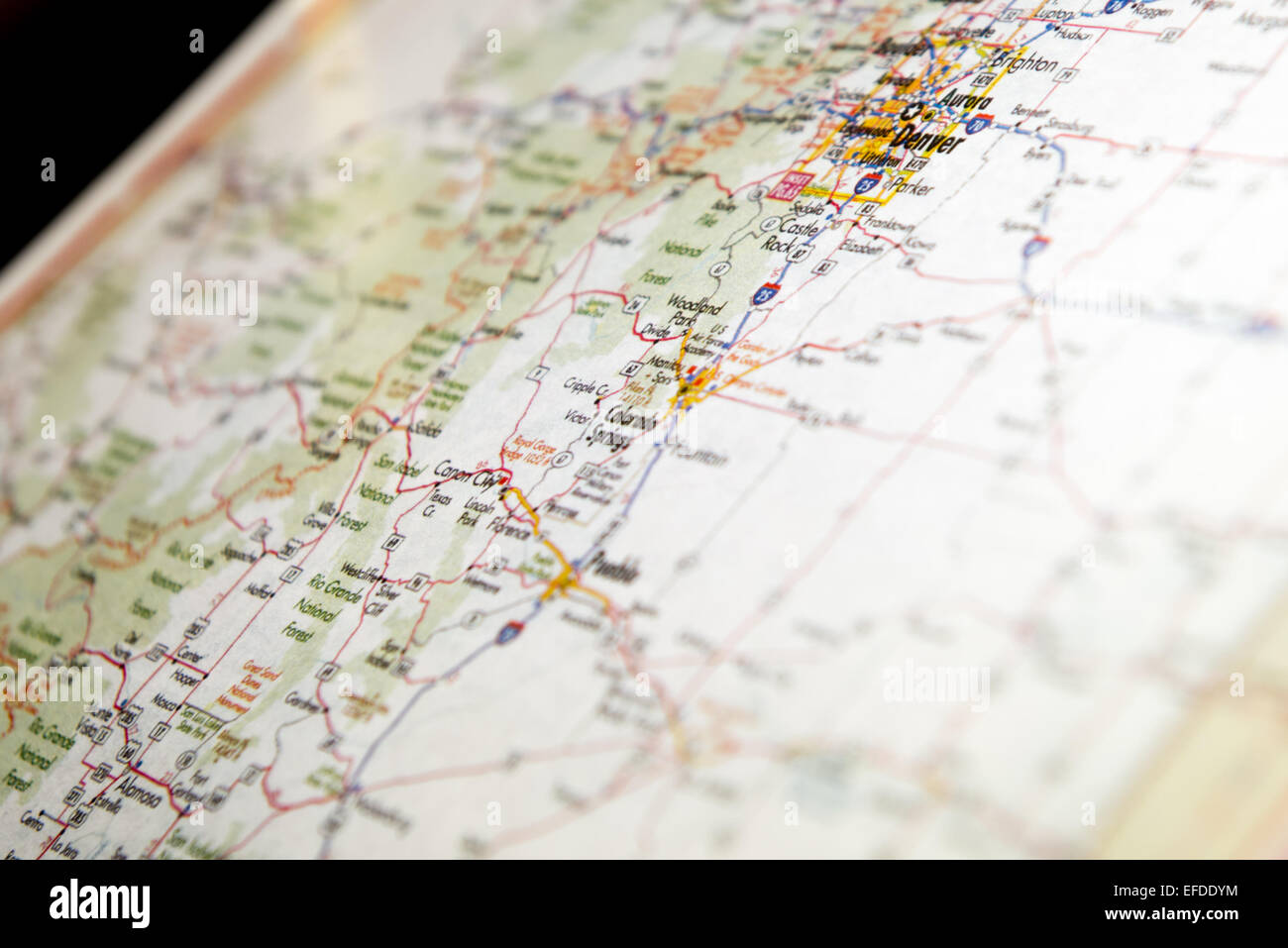 Roadmap And Usa Stock Photos & Roadmap And Usa Stock Images - Alamy