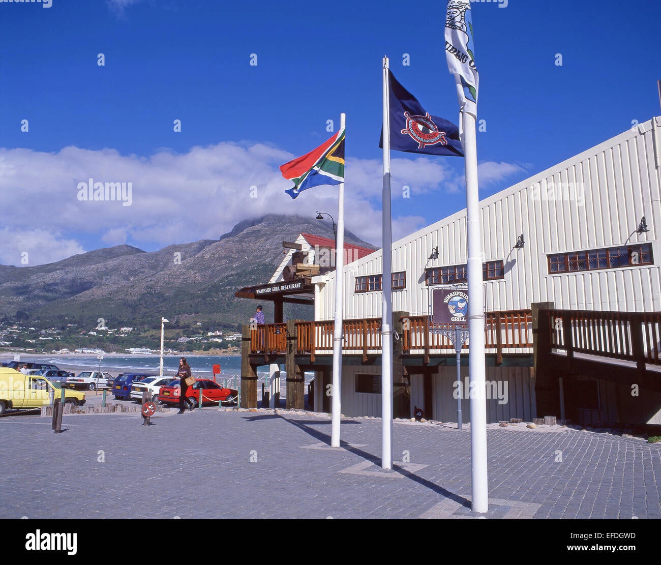 Wharfside Grill Restaurant, Hout Bay, Western Cape Province, Republic of South Africa - Stock Image