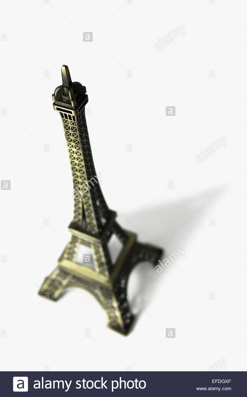 Detail of a souvenir of the Eiffel Tower in Paris. Tour eiffel - Stock Image