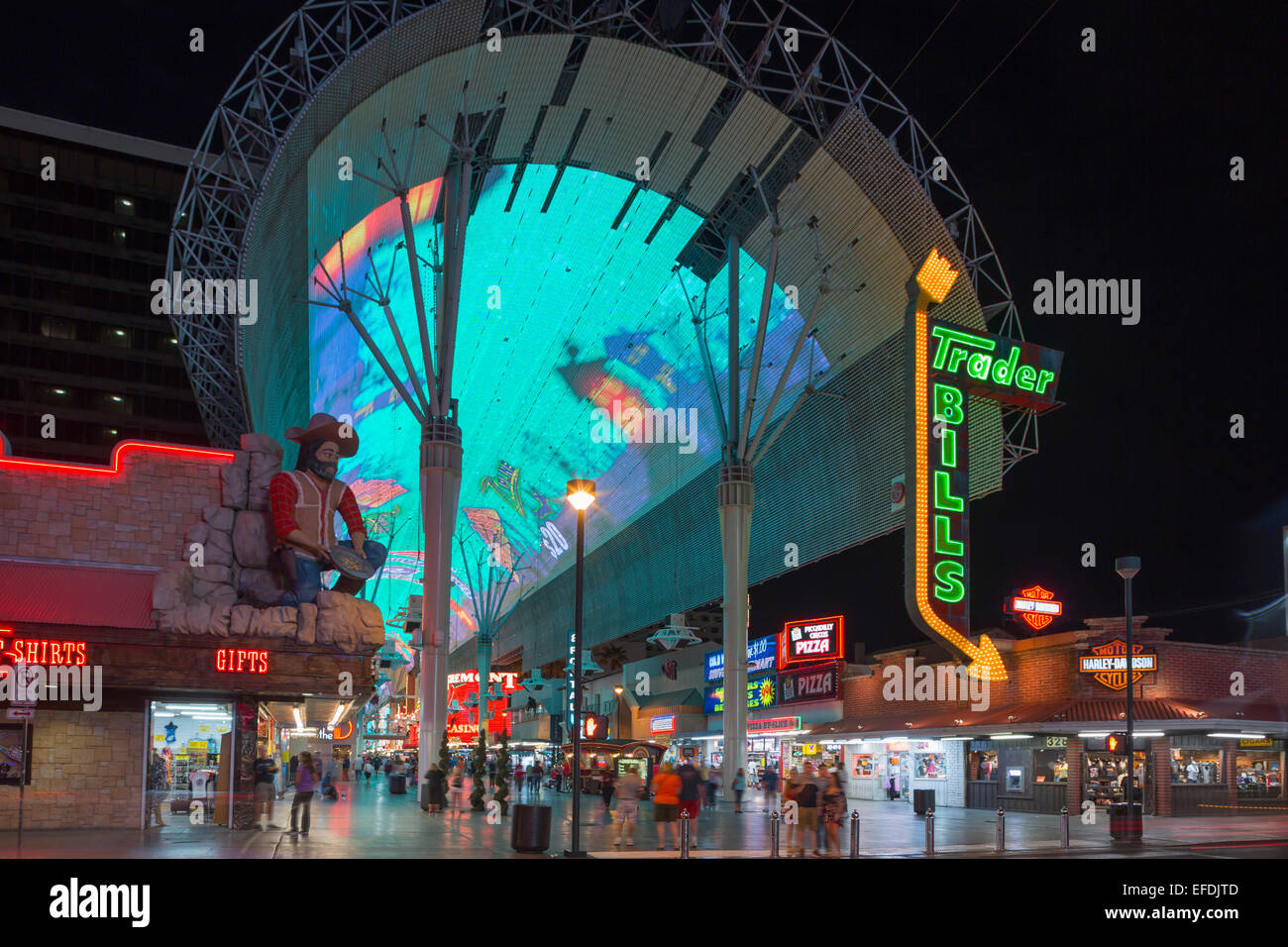 Fremont Street Experience Stock Photos & Fremont Street Experience ...