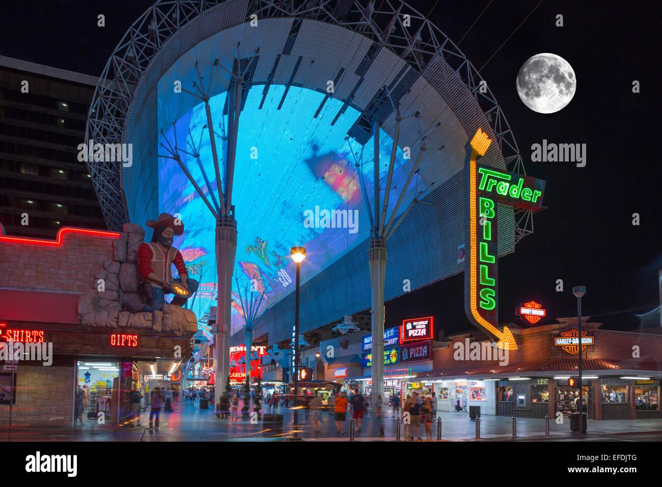 Fremont Street Stock Photos & Fremont Street Stock Images - Alamy