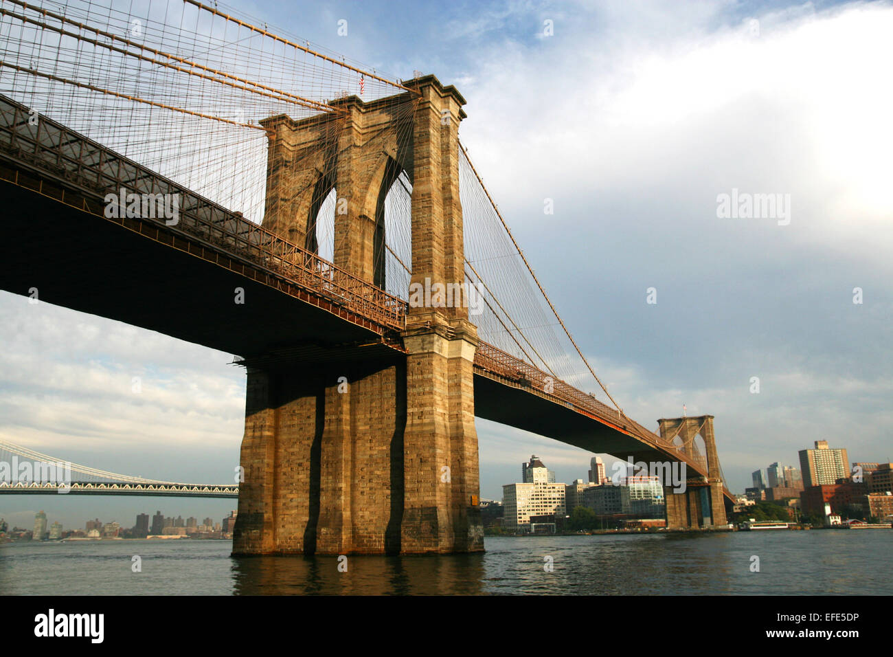 Brooklyn Bridge New York - Stock Image