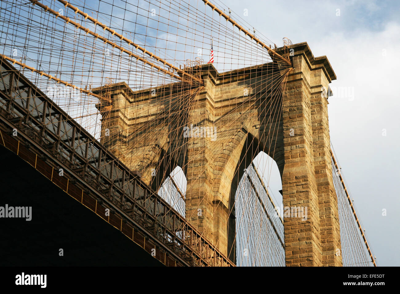 Brooklyn Bridge - Stock Image