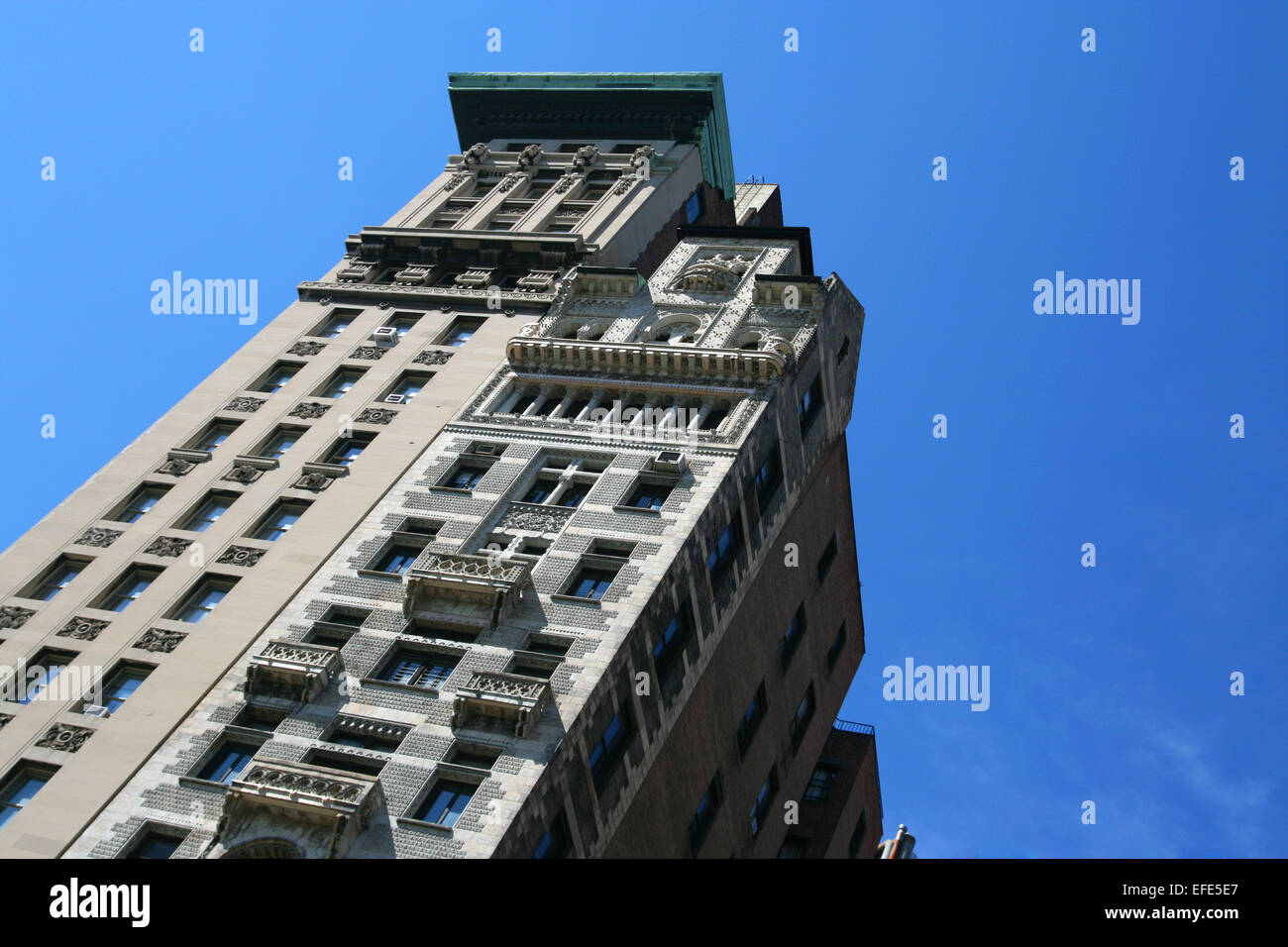 Haus in New York - Stock Image