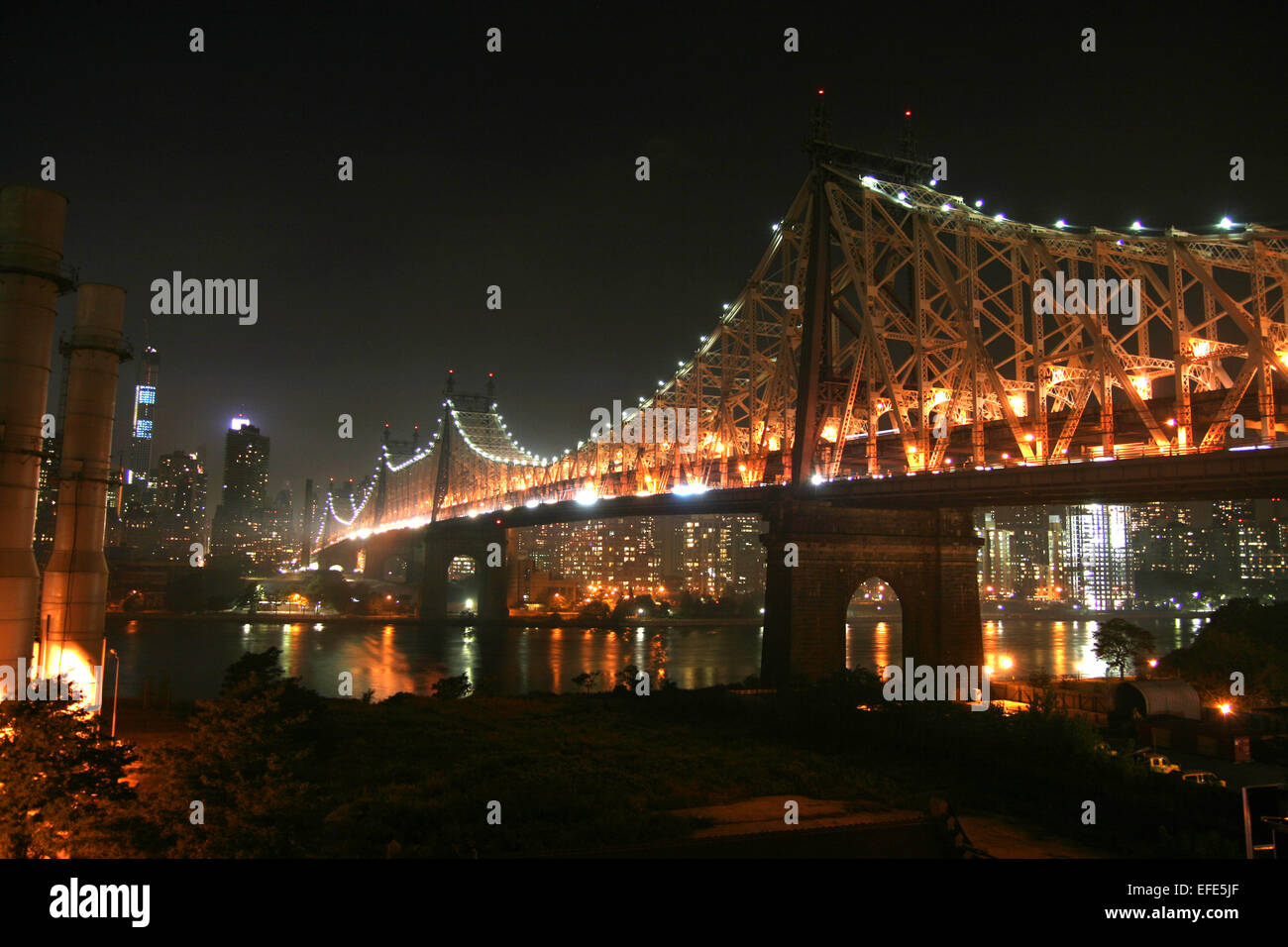 Queensborough Bridge - Stock Image