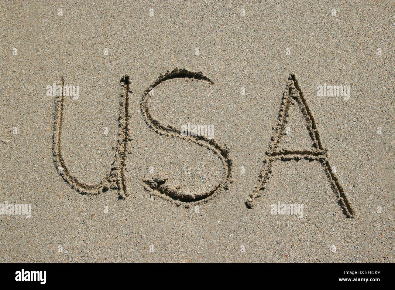 Strand USA Miami - Stock Image