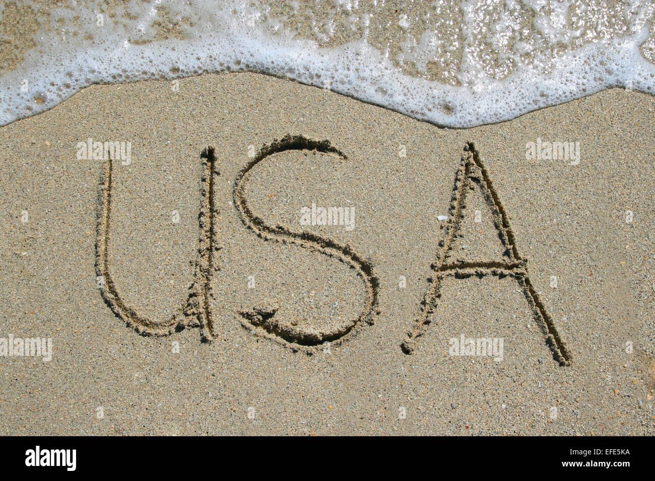 Strand USA - Stock Image