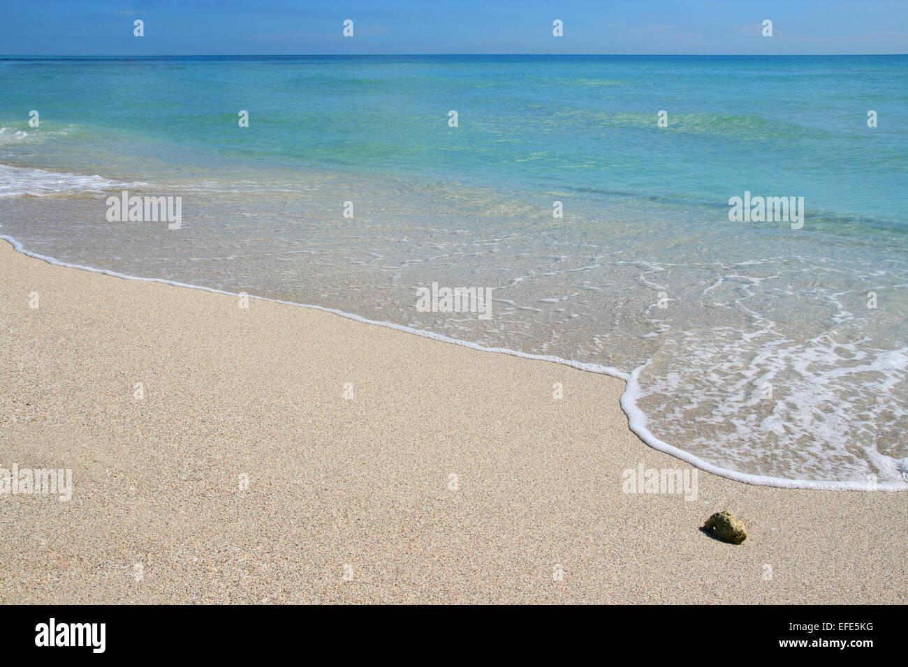Traumstrand Miami - Stock Image