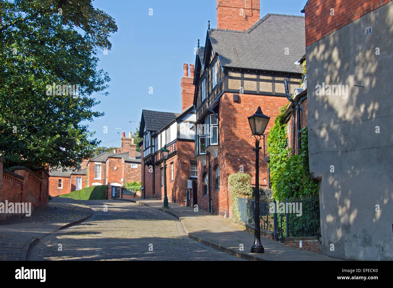 Lincoln, Centre, city, streets,  Lincolnshire; UK; England; - Stock Image