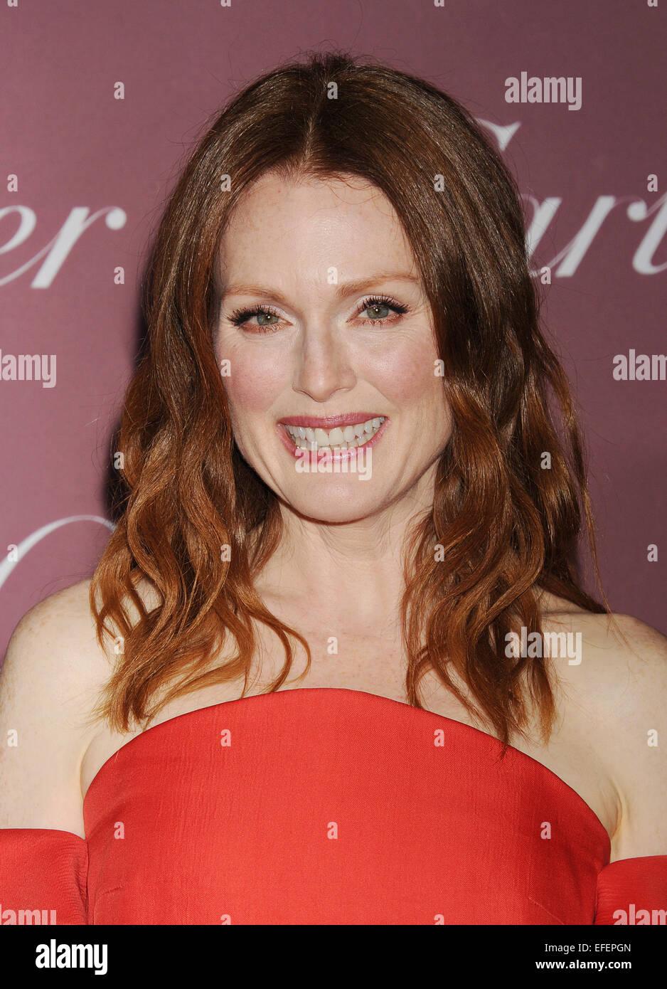 JULIANNE MOORE US film actress in January 2015. Photo Jeffrey Mayer - Stock Image