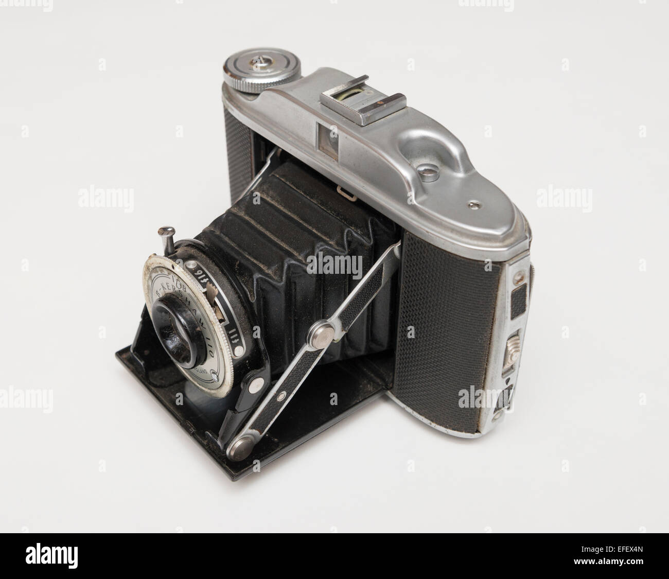Kershaw 110 folding camera, first made in 1954 by G B Kershaw of Leeds in England. - Stock Image