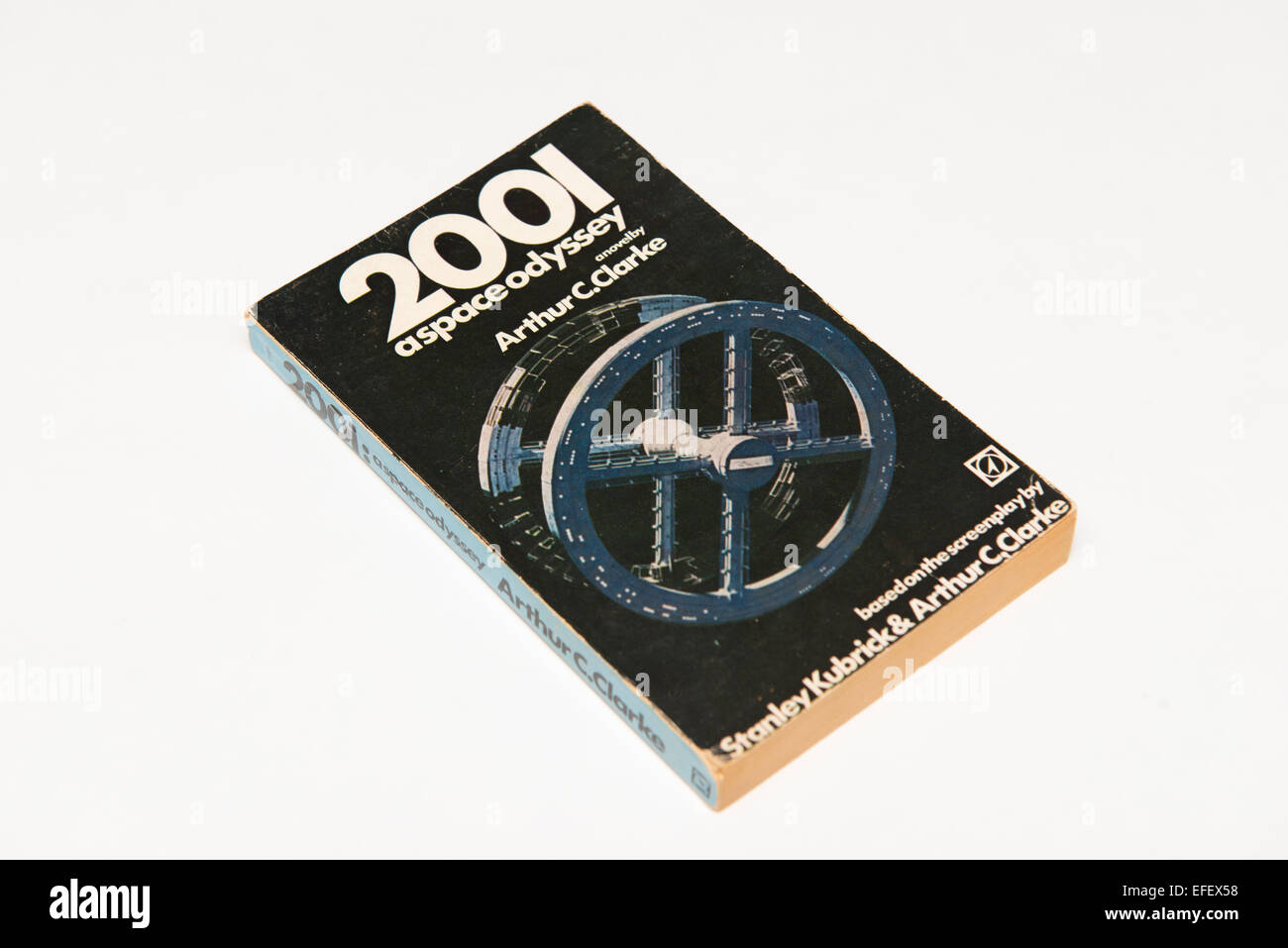 2001: A space Odyssey by Arthur C. Clarke. - Stock Image