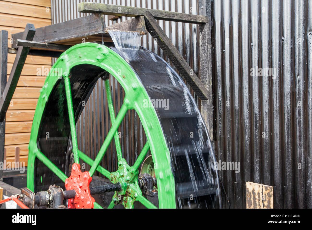 Water wheel - Stock Image