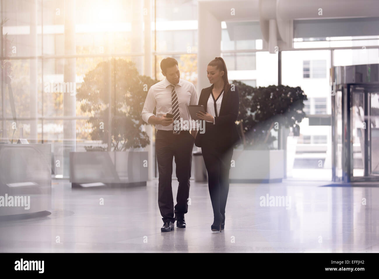 Business people meeting and sharing ideas Stock Photo