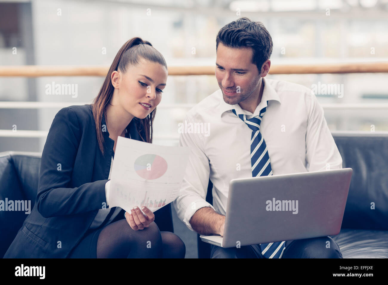 Business people meeting at the office - Stock Image