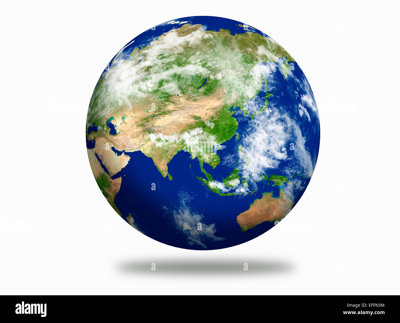 Earth planet - Stock Image