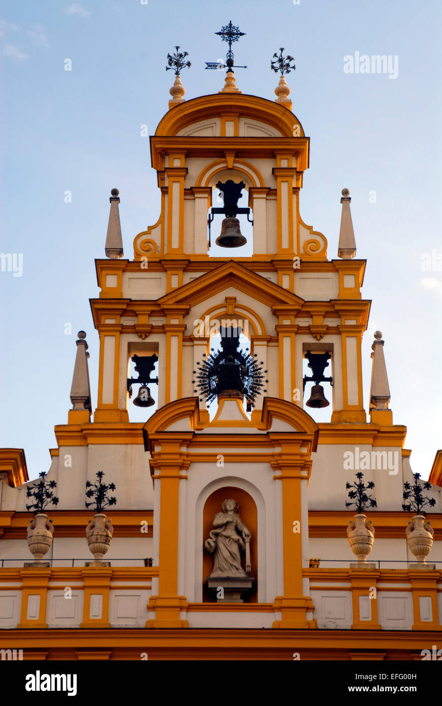 Basilica Macarena, Church, Seville, Spain - Stock Image