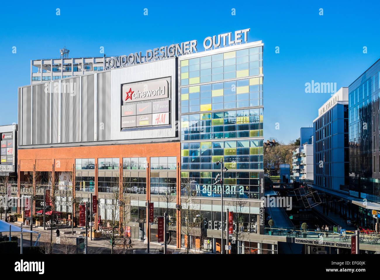 1389d6b96c18a4 London Designer Outlet Shopping Centre Wembley Park - London - Stock Image