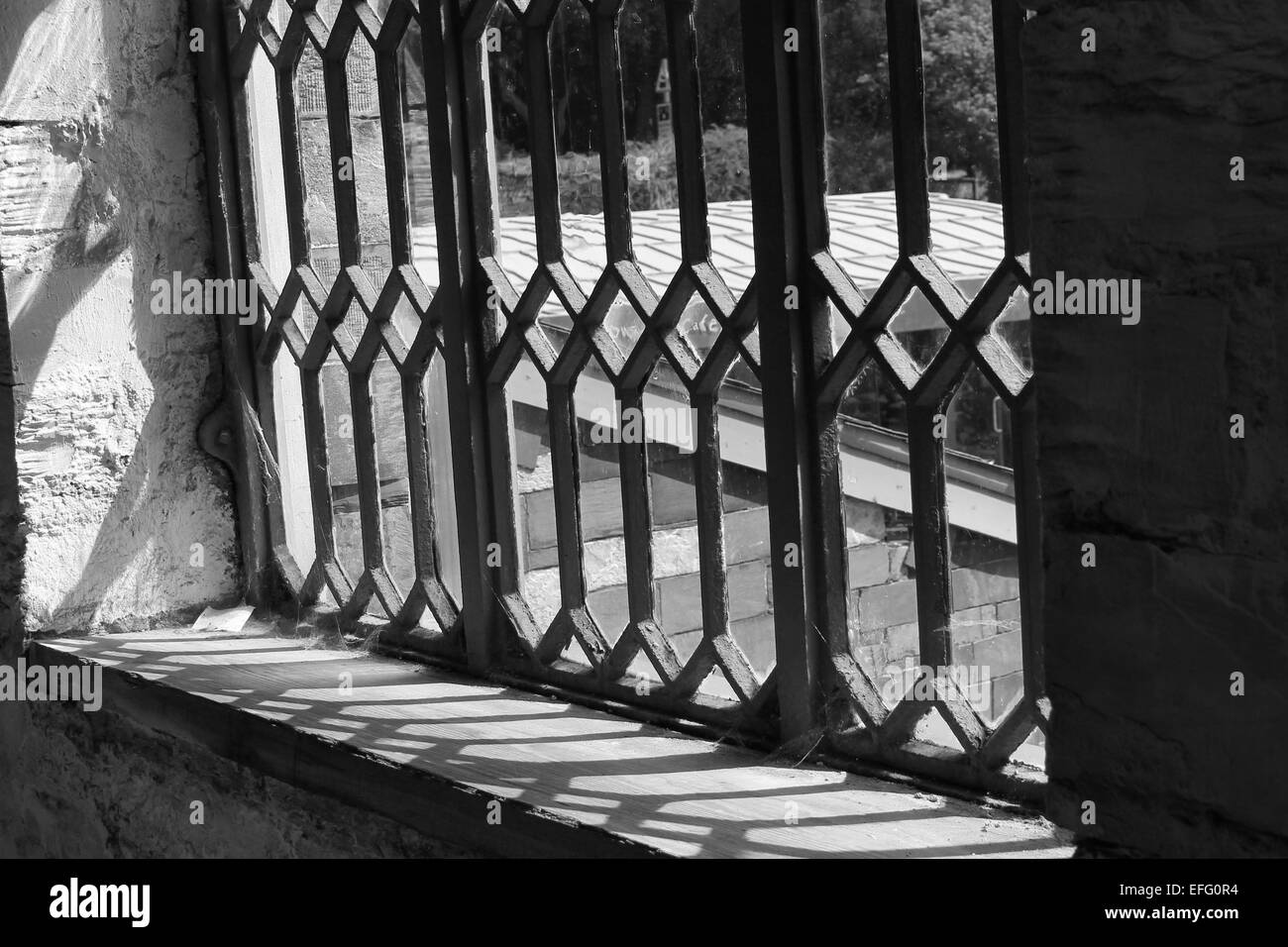 Reflection victorian windows museum castle old white black street photography lines shapes abstract art