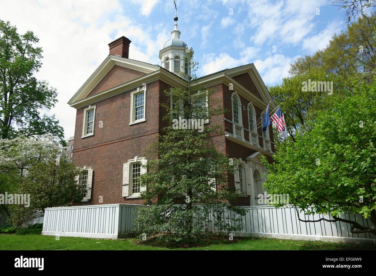 Carpenter's Hall,  Philadelphia, Pennsylvania, USA - Stock Image