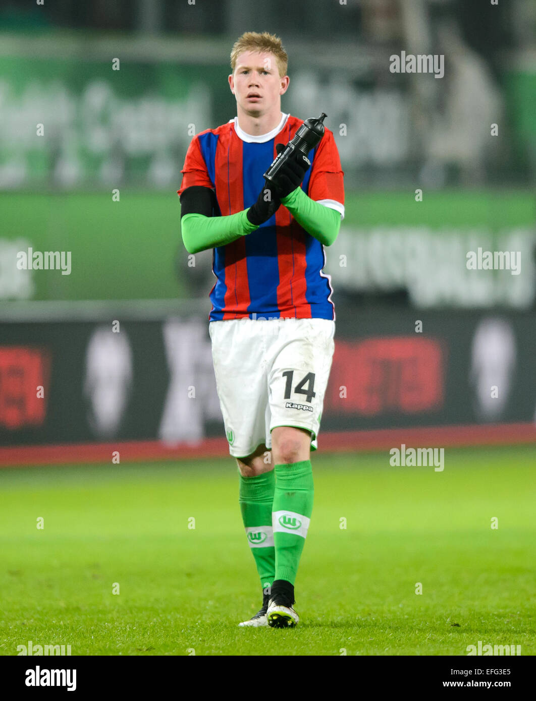 new arrival f56ef e3328 Wolfsburg's Kevin De Bruyne in a Munich jersey at the German ...