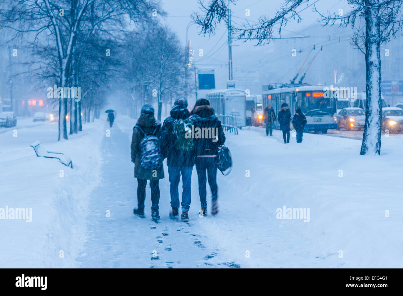 Weather in Moscow and region in February 2017 42