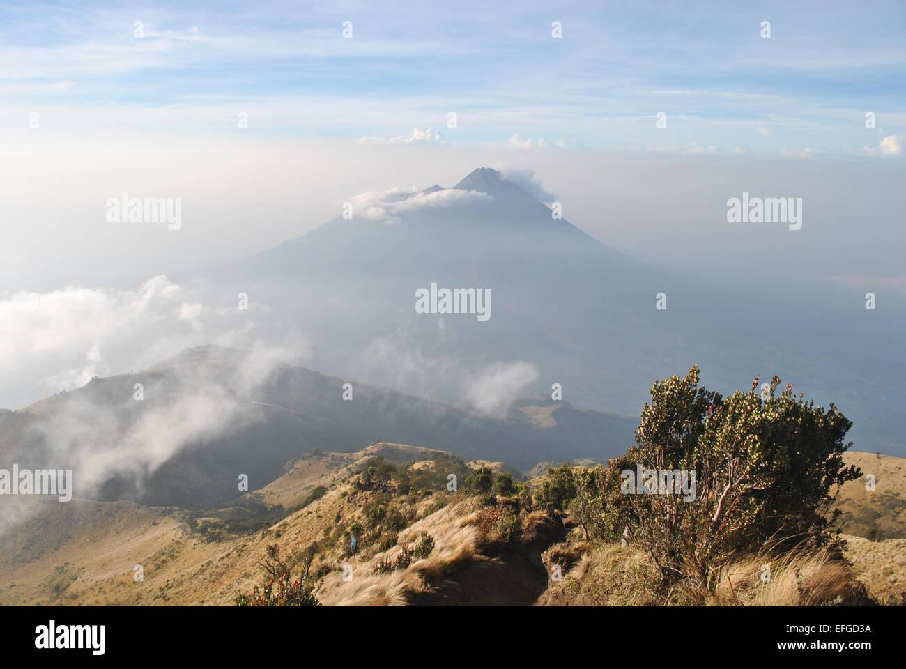 Gunung Merapi, Central Java, Indonesia - Stock Image