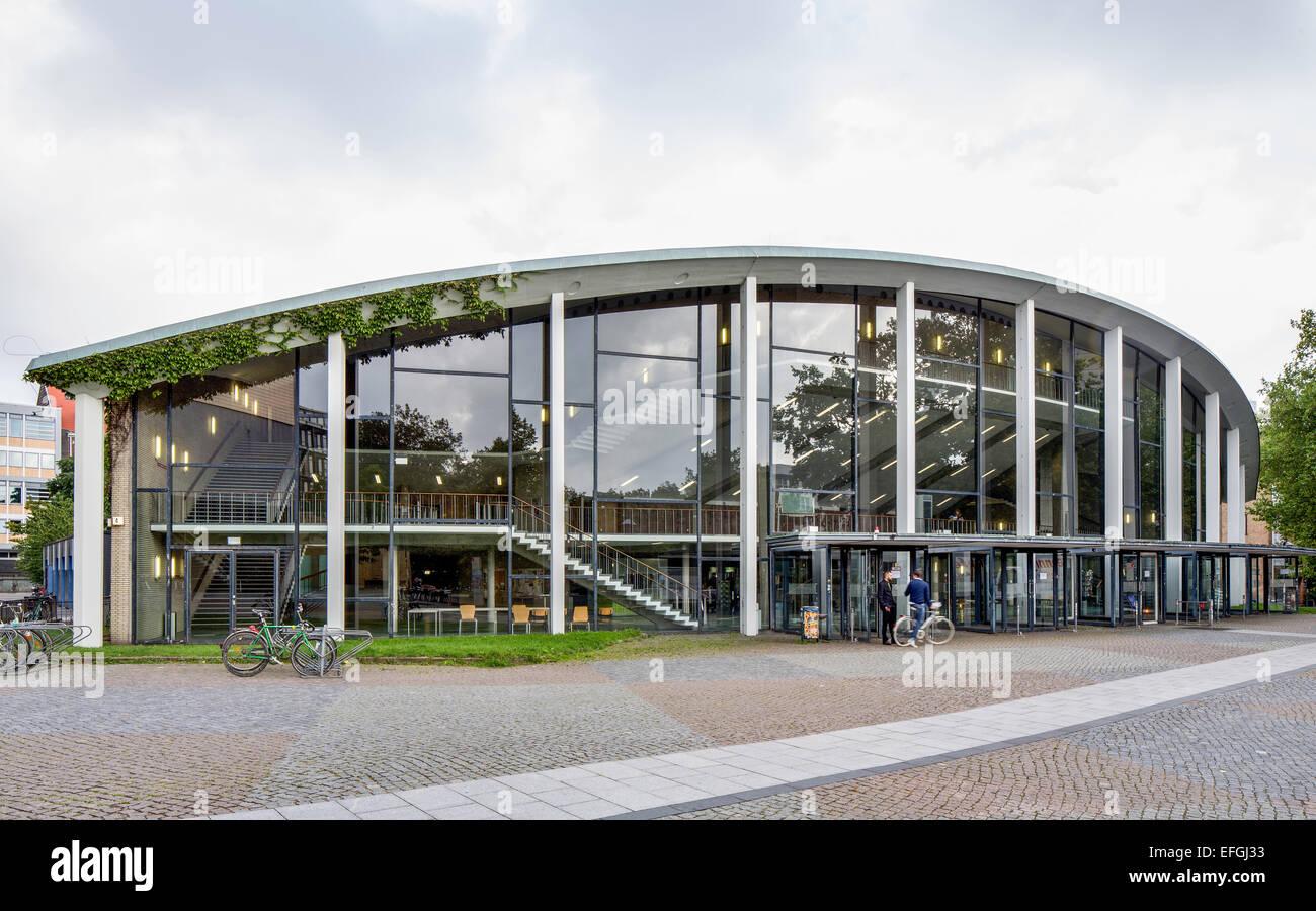 Auditorium Maximum, lecture hall of the University of Hamburg, Rotherbaum, Hamburg, Germany - Stock Image