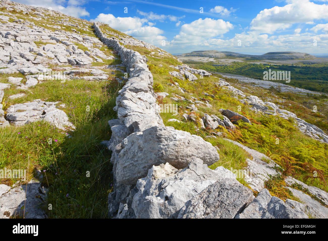 The Burren, County Clare, Ireland - Stock Image