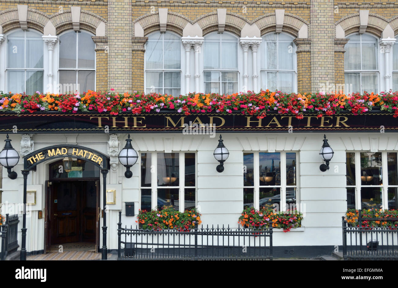 The Mad Hatter Hotel, Southwark, London, UK. - Stock Image