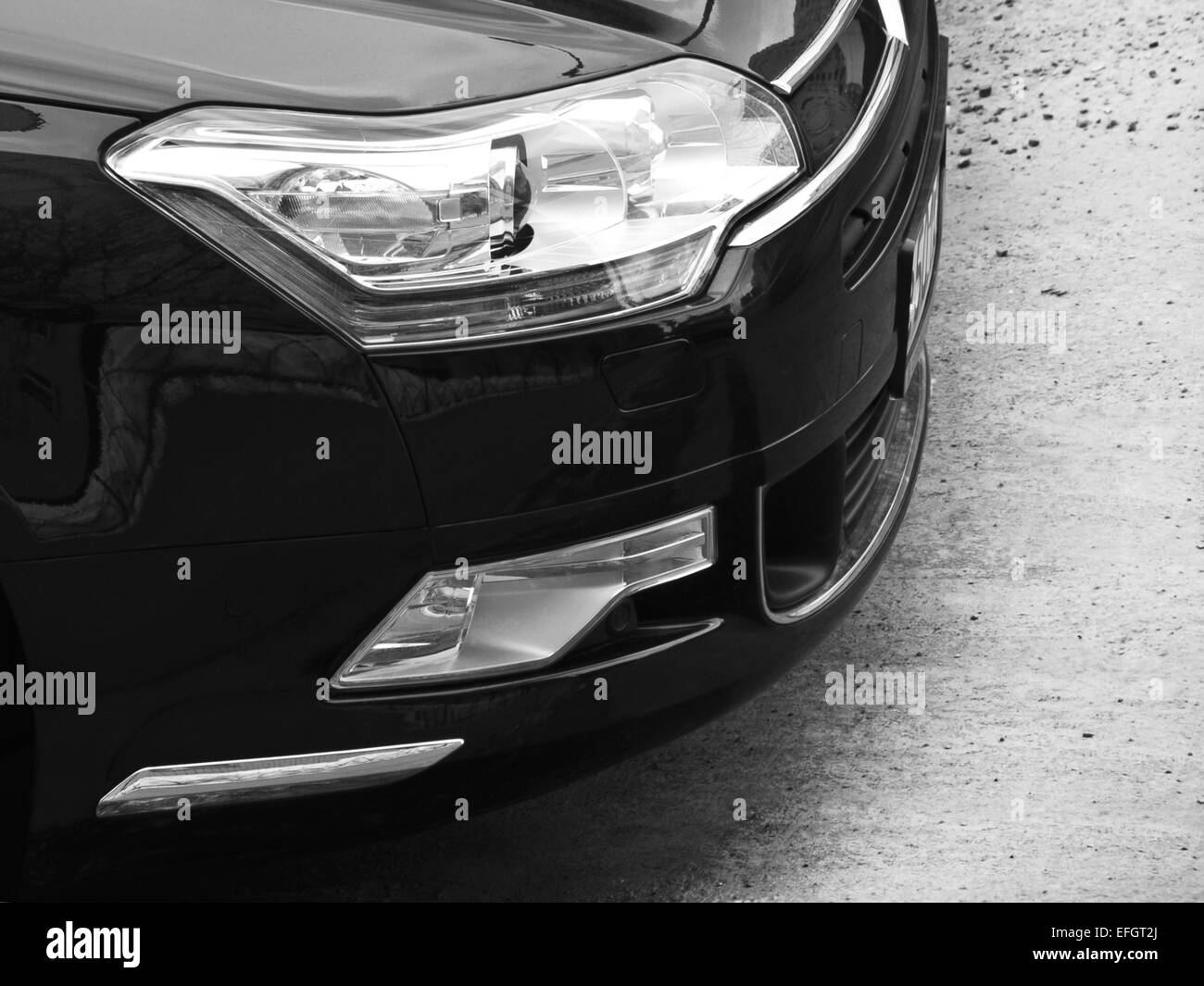 car optics - Stock Image