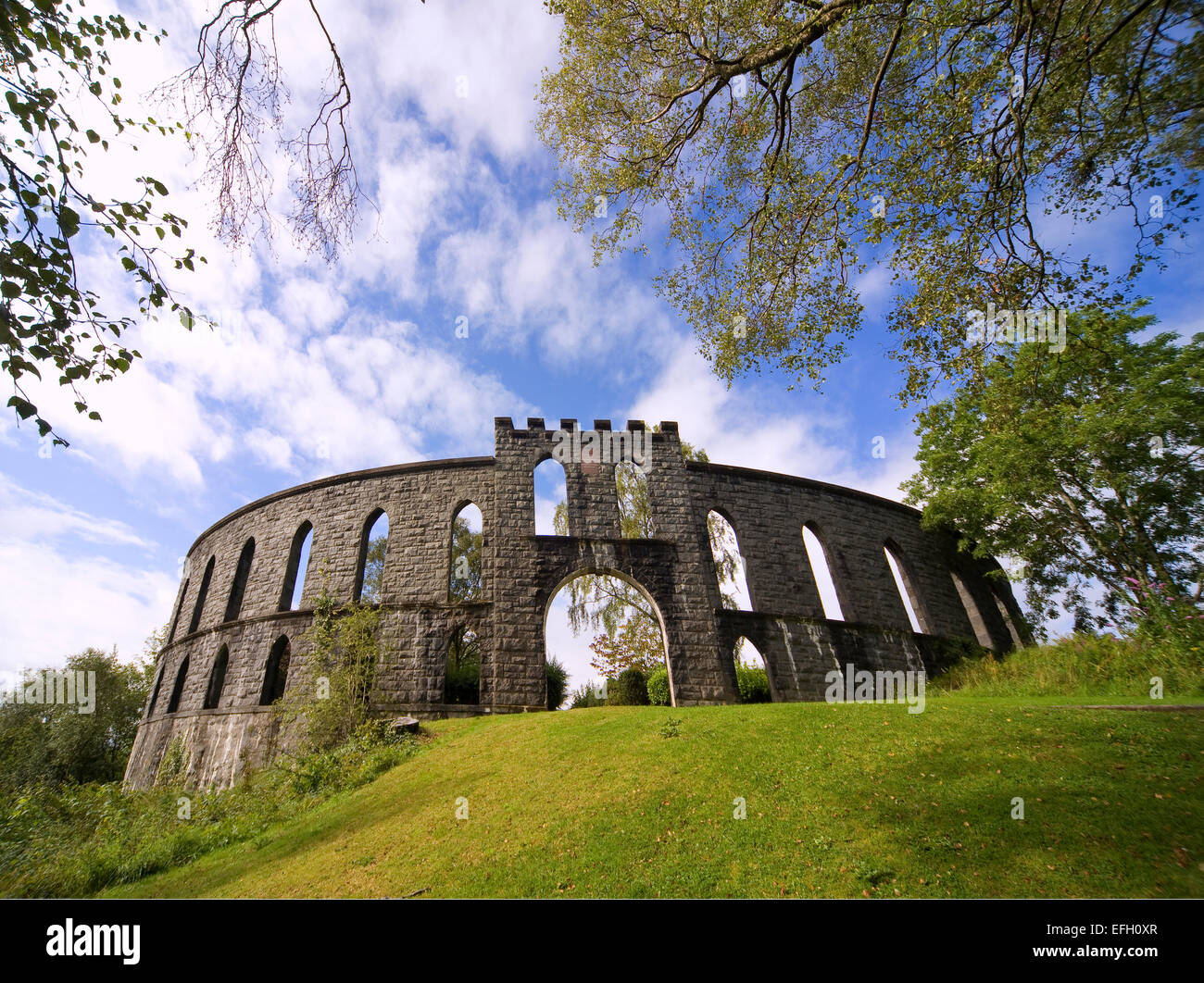 MaCaigs Tower, Oban, Argyll - Stock Image