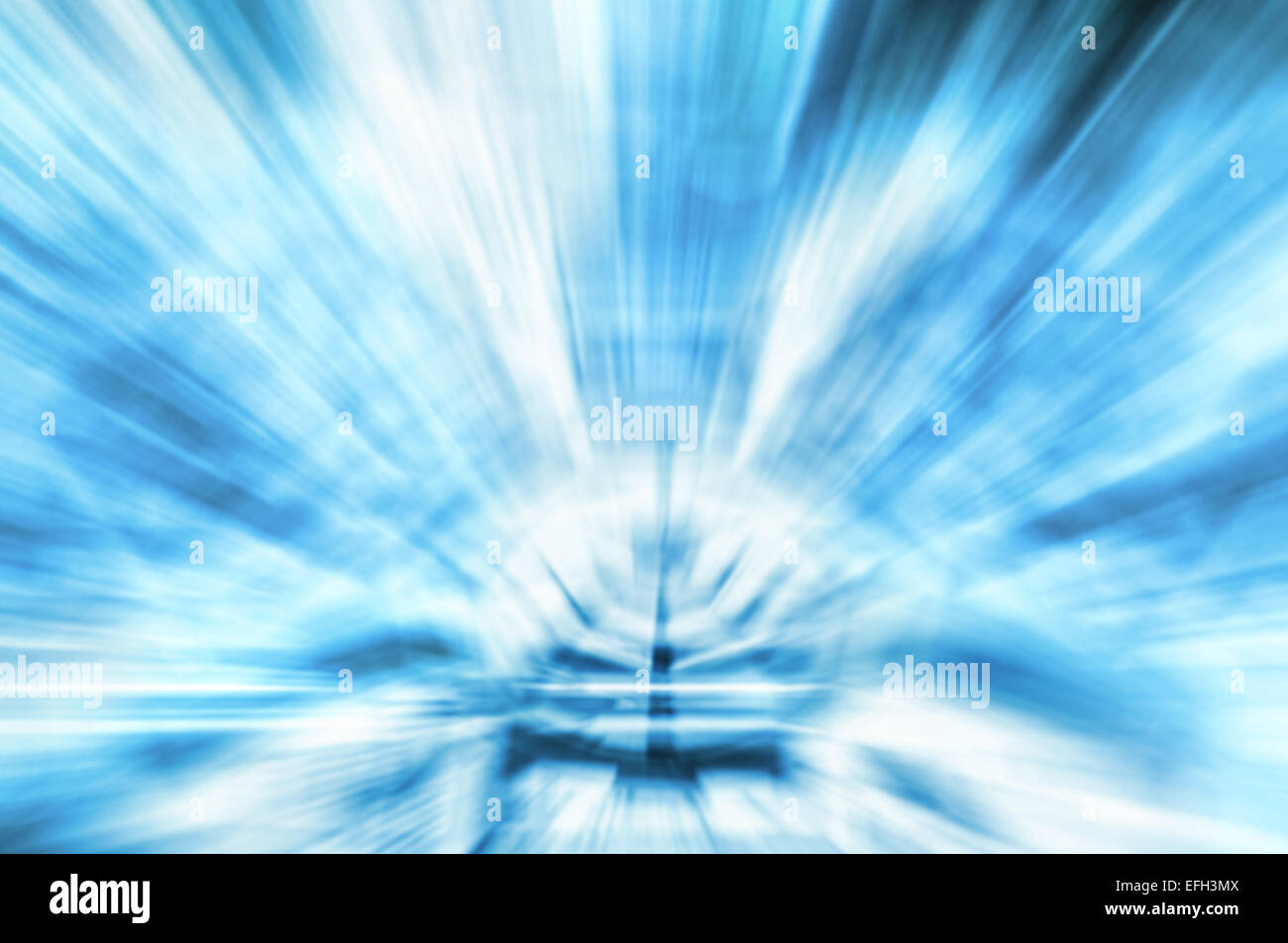 Abstract motion blurred high tech background. - Stock Image