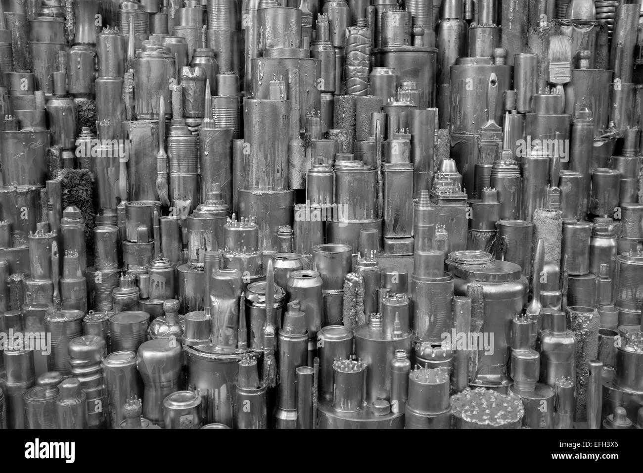 Selfridges London Window Display. - Stock Image