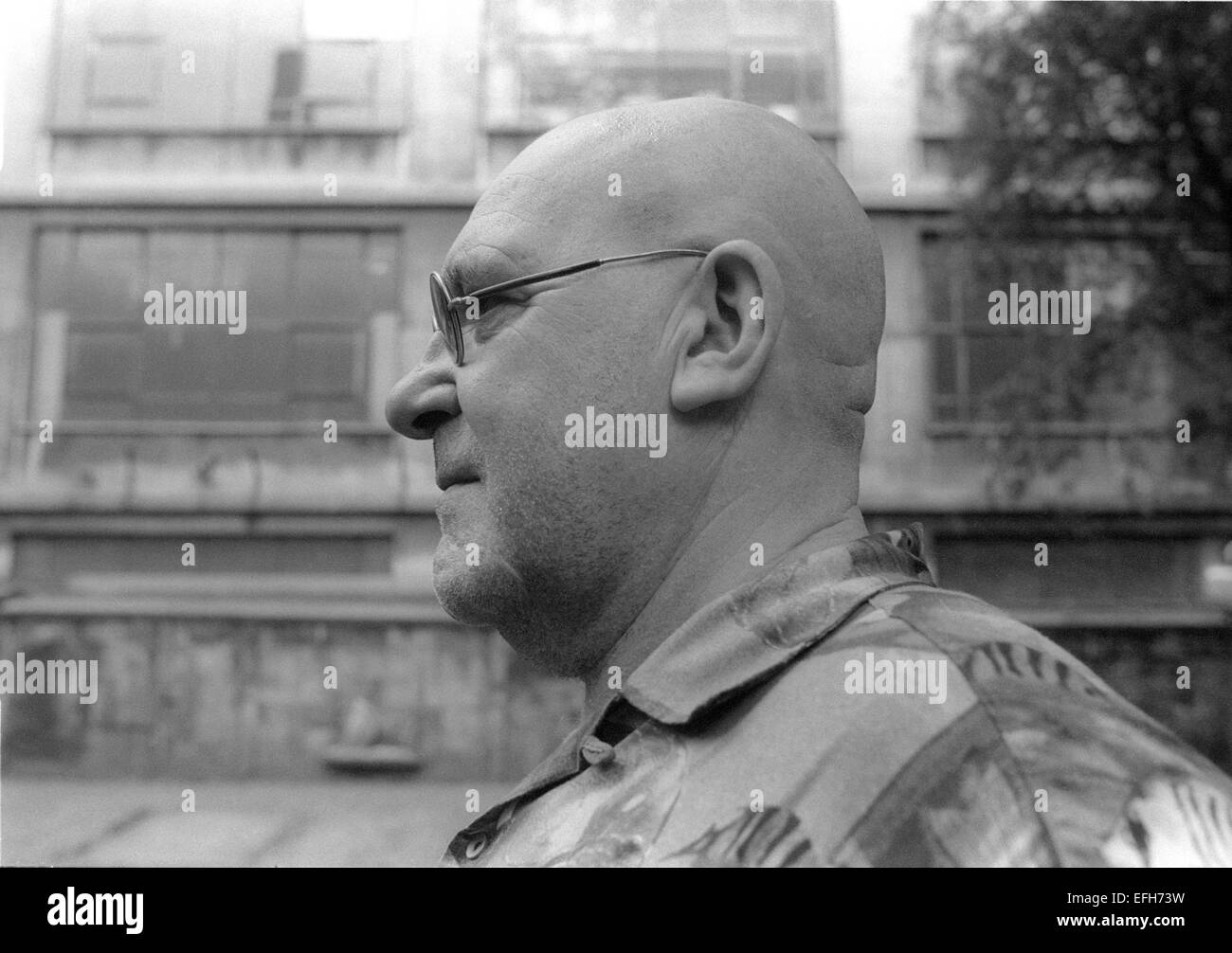 Lol Coxhill, (George Lowen Coxhill) was an English free improvising saxophonist and raconteur. - Stock Image