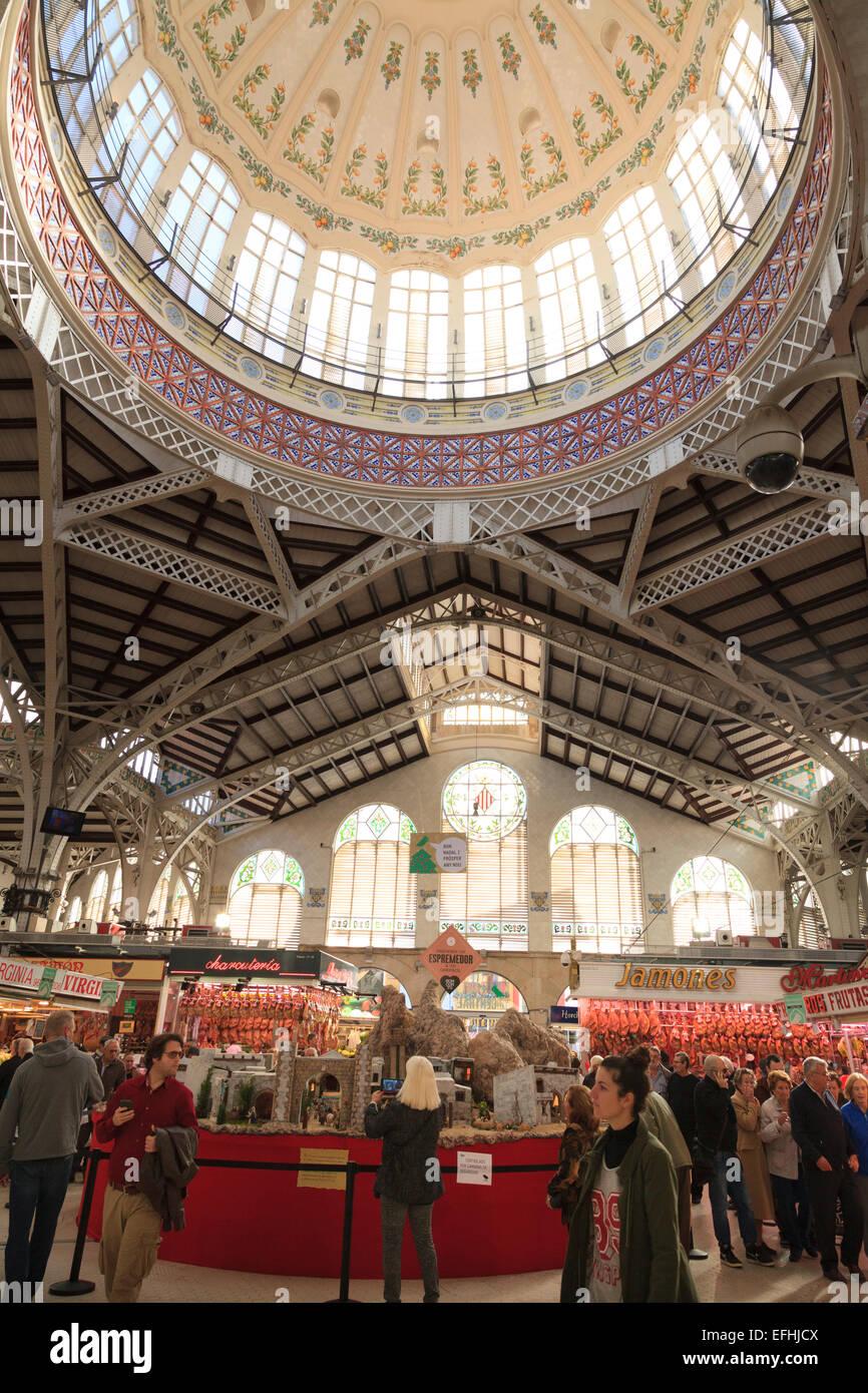 Mercado Central Valencia Mercat Stock Photos Amp Mercado