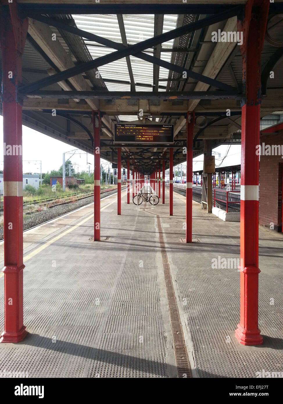 Stockport Train Station, Manchester, UK - Stock Image