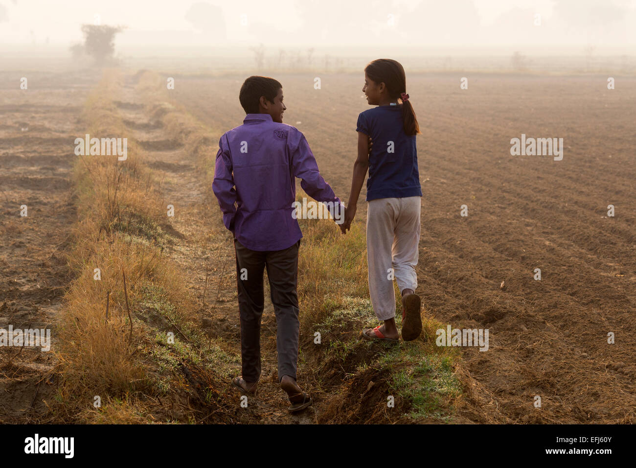 Brother Sister India Stock Photos & Brother Sister India