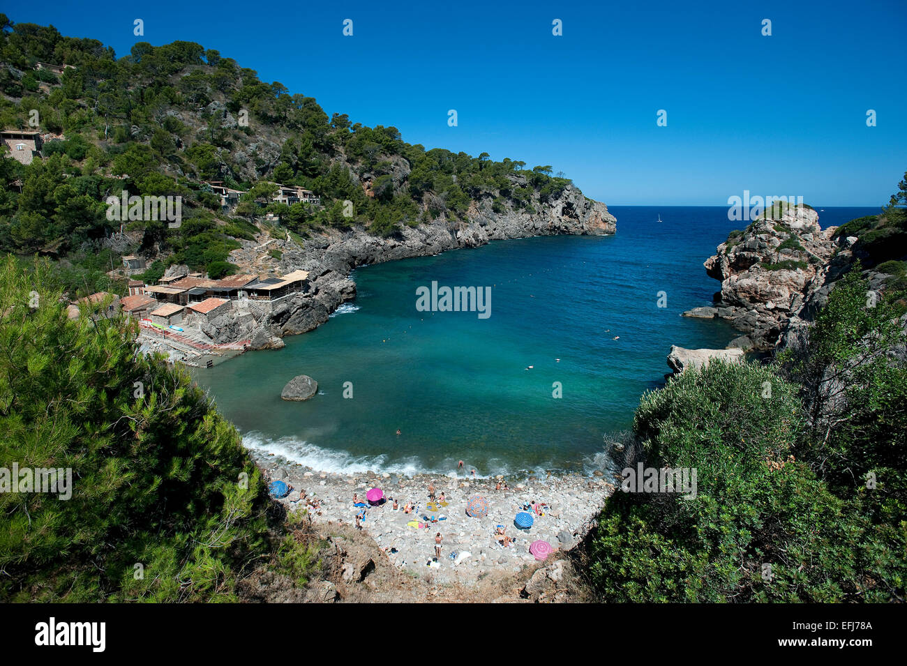 Beach, Deia, Mallorca, Balearics, Spain Stock Photo: 78462170 - Alamy