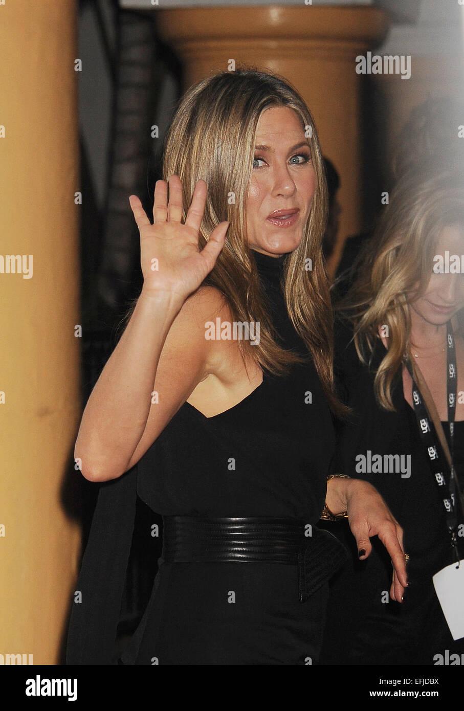 JENNIFER ANISTON  US film actress in January 2015. Photo Jeffrey Mayer - Stock Image