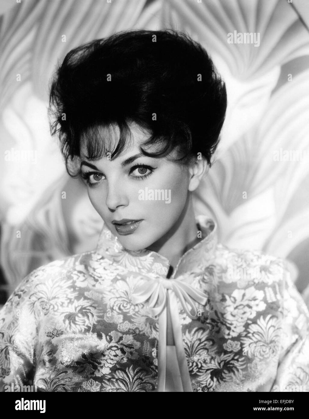 JOAN COLLINS  UK film actress about 1955 - Stock Image